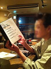 3店内:テーブル席@焼鶏工房めっしー・焼鳥・高砂