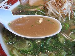 8ランチ:葱ラーメンスープ@らーめん本舗・博多葱一・天神