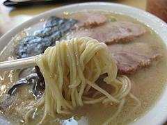 7ランチ:ラーメン麺@本場久留米・うちだラーメン・那珂川