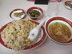 12ランチ:炒飯定食680円@中華料理・餃子李・薬院