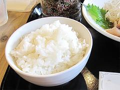 料理:おかわり無料の美味しいご飯@梅山鉄平食堂