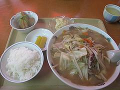 11ランチ:チャンポン定食650円だ@不二家食堂・大手門
