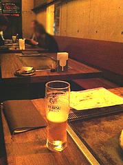 4店内:テーブル@鉄板バル・あじさわ・お好み焼き・姪浜