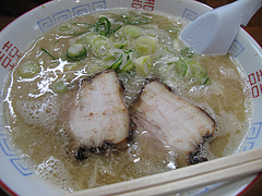料理:ラーメン550円@麺屋多吉・ラーメン・大橋