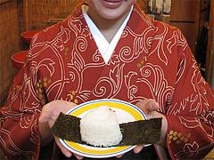 料理:おにぎり@ラーメンまんぼ亭・赤坂