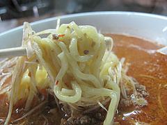 14ランチ:タンタンメンの麺@博多ラーメン一点公・大橋