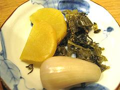 料理16:漬物@串焼き・釜飯の俵・久留米