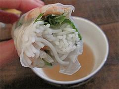 料理:ゴイクン(サイゴンの生春巻)食べた@ベトナムカフェ&レストラン・ゴンゴン