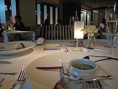 店内1:テーブル席@フレンチ・ジョルジュ・マルソー・大手門