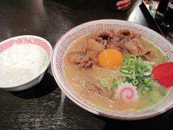 9肉玉そば700円@おとど・ラーメンスアジアム