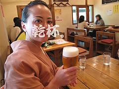 料理:生ビール(サントリーモルツ)480円@タイ料理オシャ・大橋