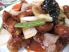 料理:日替わり定食・酢豚アップ@点心楼・台北・薬院店