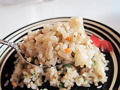 料理:半やきめしアップ@辣タンメン・にんにくコロコロ・清川