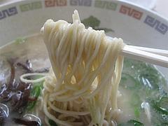 料理:ラーメン麺@名代ラーメン亭