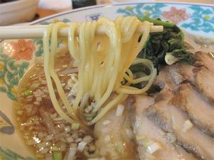 18チャーシューメン麺@中華菜館・五福
