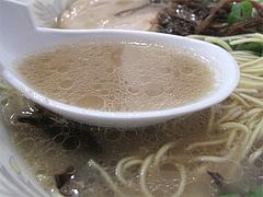 ランチ:ラーメンスープ@本格豚骨ラーメン・ばかうま・三角市場