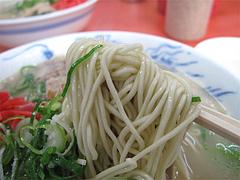 ラーメン:ナシカタ麺@元祖長浜屋