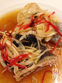 9黒鯛の蒸し物威海風@マルコキッチン