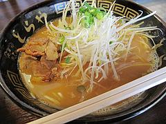 料理:味噌チゲラーメン500円@ラーメンとらや渡辺通り店