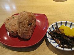 9ランチ:ランチ限定豚めしセット150円@博多中華そば・まるげん・平尾