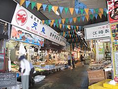 外観:柳橋市場の通り@柳橋連合市場・柳橋食堂