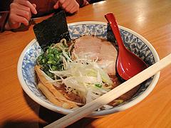 料理:豚骨魚介らーめんの空撮@麺処・糀や・キャナルシティ博多・ラーメンスタジアム