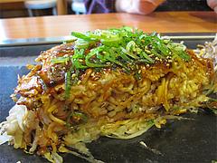 8ランチ:肉玉そばライス@広島お好み焼き・ひらの・福岡店