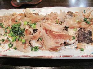 8大分産おおしいたけの炙り焼き@奏宴