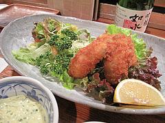 13食事:カキフライ@食事処きむら(木村)・中洲・和食
