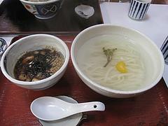 9ランチ:とりおろし温630円@恵味うどん・薬院