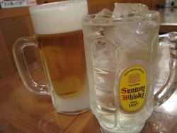 5ビールとハイボール@屋台おかもと