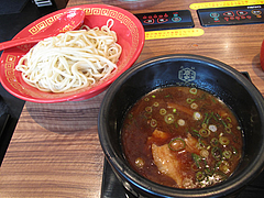 7ランチ:醤油魚介つけ麺・細麺300g・850円@つけ麺・麺研究所・麺屋・慶史・大手門