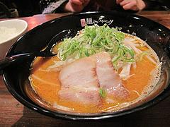 14ランチ:辛味噌豚骨拉麺600円@ラーメン・麺やダイニング・こもんど