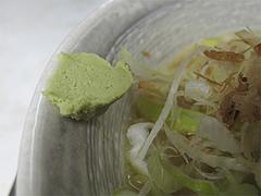 料理:節道ラーメンのわさび@節道・春日