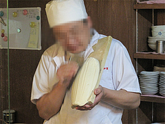 店内:刀削麺ライブ1@中華・如家・平尾