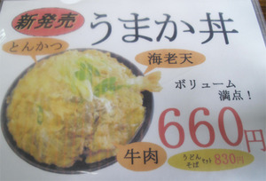 7うまか丼660円@城南うどん