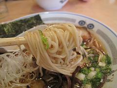 料理:ラーメン麺@ラーメン一龍・小倉