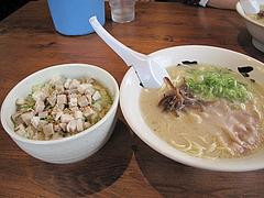 14ランチ:焼豚丼セット560円@博多六分儀ラーメン・西片江店