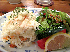 5料理:ポテトサラダ@海鮮居酒屋つねちゃん・姪浜