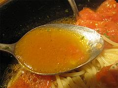 13ランチ:完熟トマトスープ@ピザとパスタの店・らるきい・大手門