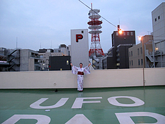 UFOを呼ぶ会@紺屋2023プロジェクト・大濠花火大会2011