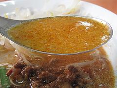 ランチ:ぶんりゅう麺スープ@長浜ラーメンぶんりゅう