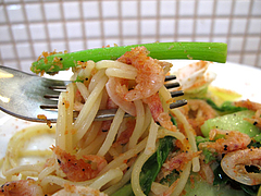 20ランチ:桜海老のパスタ@食堂シェモア・フレンチ・イタリアン・洋食