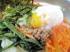 5ランチ:ビビンバ・肉味噌・ほうれん草・ニンジン@ビビンバ・韓国冷麺専門店・菜ずき・天神