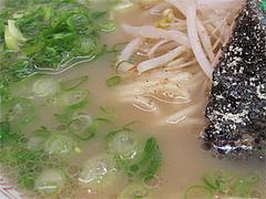 料理:王龍ラーメンスープ@王龍ラーメン・福岡市中央区赤坂