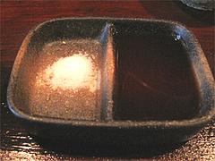 料理:塩とソース@串揚げ・ひょうたん・赤坂店