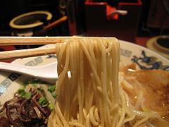 料理:ラーメン麺@麺屋・一の坊