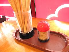 店内:卓上@好吃餃子(ハオツーギョウザ)