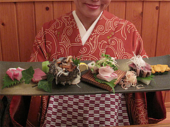 料理:刺盛2人前(ゴマサバ付)2,400円@博多まかない屋