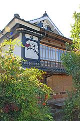 2コテ絵(鏝絵・こてえ)@旧川口邸・季節料理なごみ・八女市上陽町
